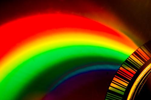 CD Rainbow - Macro Monday 8 Feb