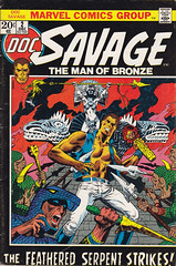 Doc Savage 2 (micky the pixel) Tags: comics comic heft marvel rossandru erniechua docsavage maya goddess jimsteranko