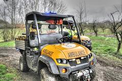 Quad Medical ATV1 & ATV2 (QuadSpotter) Tags: rescue countryside woods jcb mud offroad ambulance crew atv emergency winch bluelights medics workmax kimtek wwwquadmedicalcouk quadmedicallimited www4x4ambulancescouk