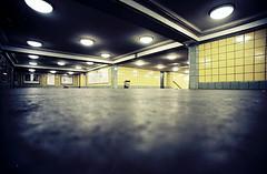 Tube station, Berlin (Kuusela photography) Tags: city urban berlin underground lomo lomography superia ubahnhof tube wide citylife 200 ubahn fujifilm expired kuusela lcw lcwide kuuselaphotography