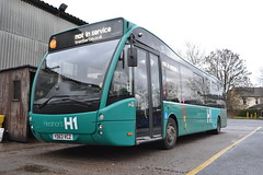 Trent Barton 832 YD63VCZ (Will Swain) Tags: uk travel england bus english mill buses yard britain derbyshire garage transport january vehicles trent vehicle depot barton seen 24th langley nottinghamshire midland midlands 2016 bartons 832 yd63vcz