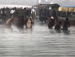 Bathers Sarayu River (David Clay Photography) Tags: india bathing hindu pilgrimage rama pilgrim sarayu ayodhya