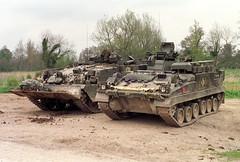 T.J. Neate Copyrighted Photograph (Neatescale) Tags: warrior britisharmy recovery salisburyplain tanks reme chieftain spta rsdg arrv mcrv