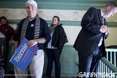 Campaign Security (Greenpeace USA 2015) Tags: usa democracy newhampshire exeter vote republican democrat sanders keepitintheground