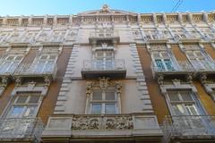 Reto fachadas (toniiky) Tags: arquitectura ventanas fachada cartagena modernismo