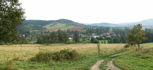 Panorama Radochowa spod Cierniaka