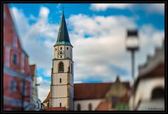 Johannesdom Nabburg (P.Hcherl) Tags: church lensbaby germany bayern deutschland bavaria nikon kirche staple oberpfalz d800 nabburg kirchturm unschrfe upperpalatinate johannesdom edge80