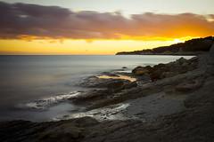 Coucher de soleil en pose longue (Philis.Nat) Tags: mer pose soleil coucher 400 nd cassis filtre agite longue mditrrane