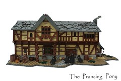 The Prancing Pony (-Balbo-) Tags: lego rings creation pony lordoftherings hobbit der herr bree fellowship prancing ringe moc