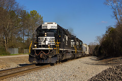 NS G39 at Aragon (travisnewman100) Tags: railroad train georgia district north norfolk southern end aragon local division freight emd sd402 g39