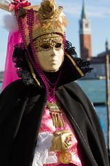 Carnevale di Venezia 2016 (Claude Schildknecht) Tags: venice italy costume mask carnaval venise venezia venedig masque campanilesangiorgiomaggiore carnevaledivenezia2016