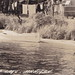 NW Carp Lake Levering Mackinaw MI RP MI RPPC 1930s Great Travel Trailers at Tourist Court Campsite on Lake Paradise Wood Boats YOUR GREAT GRANDMA TOO with her faithful dog Wolfie3
