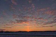 Sky Light (MattPenning) Tags: winter sunset sky snow clouds pentax sigma potd k5 skyclouds mattpenning kmount icepillar sigma1020mmf456exdc mattpenningcom penningphotography justpentax pentaxk5 bradfortonillinois