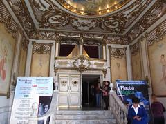 "Oaxaca: le Théâtre Macedonio Alcalá <a style=""margin-left:10px; font-size:0.8em;"" href=""http://www.flickr.com/photos/127723101@N04/25011537314/"" target=""_blank"">@flickr</a>"