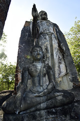 _GRL7814 (TC Yuen) Tags: architecture thailand ruins asia southeastasia buddha unesco worldheritage norththailand ancientcapital