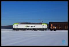Captrain 193 893, Woltorf 22-1-2016 (Henk Zwoferink) Tags: dresden siemens henk 193 itl vectron woltorf zwoferink captrain br193