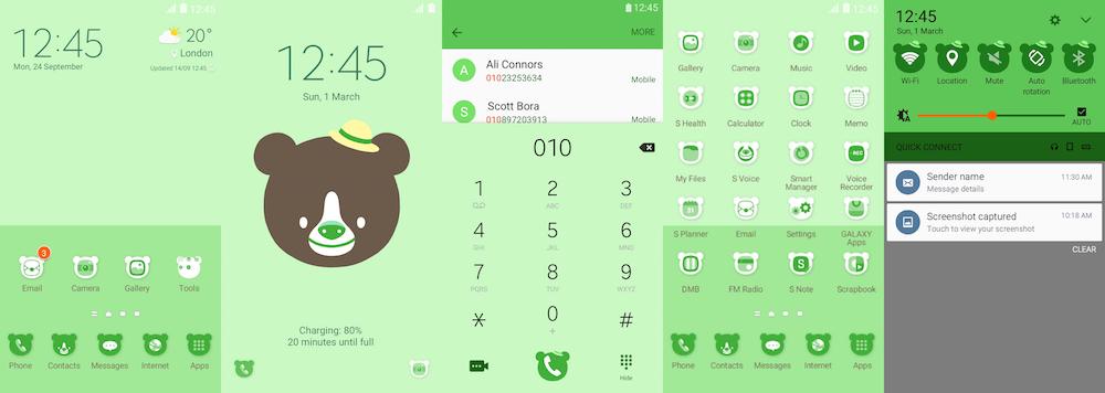 ដោយសារតែ Theme TouchWiz 6.0 មិនទាន់មាននៅក្នុង Samsung Store ក្នុងតំបន់មួយចំនួន តែឥឡូវសាកទាញយក Theme ស្អាតៗទាំង 5 នេះ ទៅរចនាជំនួសវិញ