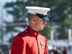United States Marine Band (JThompson88) Tags: red camp white black gold marine military president north band ceremony carolina lejeune