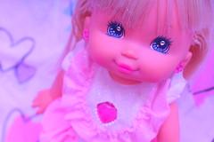 P.J sparkles~~~~ (Vuffy VonHoof) Tags: pink light girl up sparkles vintage photography lights j doll neon dolls heart vibrant pastel magic retro 80s pj late p magical 90s sprakle