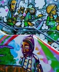 DSC01753.jpg (Mel Jennings) Tags: graffiti iceland vibrant reykjavik carpark bight