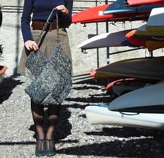 borsa rombi (stranelane1) Tags: lana wool bag tricot knitting knit knitted borsa maglia rombi