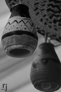 The Hanging Clay Lanterns