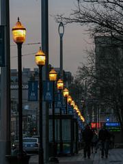 Broadway Streetlights at Dusk (prima seadiva) Tags: lights streetlight dof dusk broadway capitolhill sccc