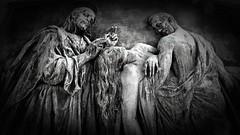 Woodlawn Cemetery Detroit, MI (Crunch53) Tags: bw cemeteries cemetery graveyard mi michigan detroit woodlawn