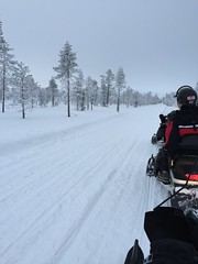 Finland - February 2016. (darrenboyj) Tags: winter cold finland lapland snowmobiling