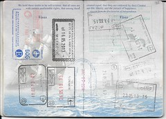 US Passport Multiple Entry/Exit Stamps (Taylor Mc) Tags: nyc ireland dublin usa newyork germany us airport colombia bogota europe unitedstates stamps sarajevo bosnia unitedstatesofamerica croatia jfk stamp macedonia herzegovina exit passport entry visa montenegro hercegovina stempel schengen bosna bosniaandherzegovina svetinaum menningen metkovi bosnaiherzegovina debelibrijeg boaj dolnoblace
