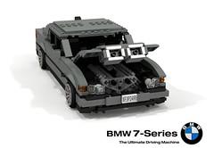 BMW E38 750iL (Tomorrow Never Dies) (lego911) Tags: auto life never film car sedan movie death james model lego render il 101 spy bmw bond 1997 tomorrow saloon challenge 1990s 7series cad lugnuts povray matter v12 dies moc 750 7er ldd miniland tomorrowneverdies e38 750il amatteroflifeanddeath lego911