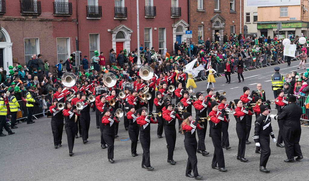 WHITEWATER HIGH SCHOOL WILDCAT MARCHING BAND [PATRICK'S DAY 2016]-112484