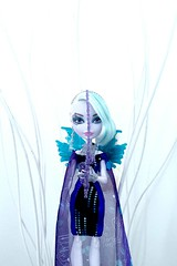 Are people born wicked or do they have wickedness thrust upon them? (Christo3furr) Tags: fashion monster high doll evil fairy after ever thorne faybelle