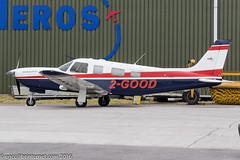 2-GOOD - 2000 build Piper PA-32R-301T Saratoga II TC, visiting Gloucester on Cheltenham Gold Cup race day (egcc) Tags: saratoga gloucester cherokee piper glo lightroom staverton 2good pa32r egbj saratogaiitc n4178w pa32r301tsaratogaiitc 3257178