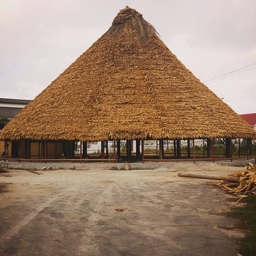 Closer look at the new roof #umanayana #Georgetown #Guyana #SouthAmerica #LG #G4 #lgphotography #lgphone #mobilephotography