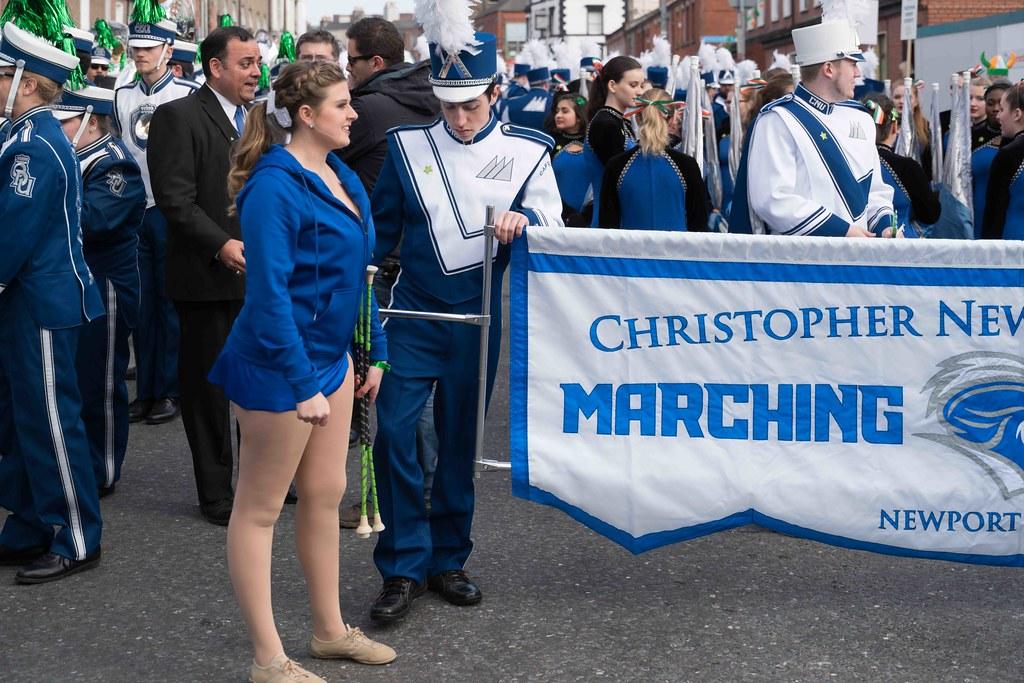Christopher Newport University Marching Captains-112406