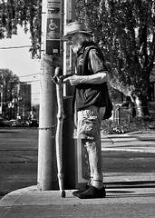 Gandalf Returns To His Day Job (thelearningcurvedotca) Tags: life street old city light portrait urban blackandwhite toronto ontario canada man male monochrome face standing outside outdoors person photography photo blackwhite downtown foto sad view noiretblanc background candid scene canadian photograph iamcanadian bwemotions torontoist blackwhitephotos bej true2bw torontostreetcandids cans2s blackandwhiteonly bwartaward discoveryphotos yourphototips briancarson blogtophoto bwmaniacv2 thelearningcurvephotography wwwthelearningcurveca