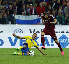 RUSSIA-SWEDEN - football-05 sept 2015 (chernykh.aleksander) Tags: sport football sweden russia moscow uefa     qualifyinground euro2016  2016