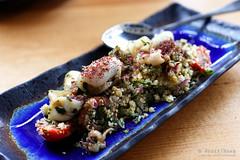 20160323-06-Sumac calamari at Syra in Hobart (Roger T Wong) Tags: food lunch restaurant australia sumac squid tasmania salamanca hobart lebanese calamari tabouleh 2016 sigma50mmf28exdgmacro sigma50macro salamancasquare canoneos6d rogertwong