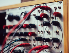 Eurorack (Sassenach5) Tags: music canon cords cables wires modular m42 lpg patch knobs synthesizer helios 442 6d eurorack vsco vscofilm