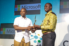 Microsoft Innovation Awards Runners up in the Education categorg is Shule Poa...