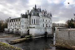 En Amont (skipmoore) Tags: france castle architecture drawbridge moat chteaudechenonceau