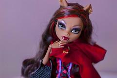 Accalia (Kyane) Tags: monster wolf doll dolls mh redriddinghood clawdeen monsterhigh clawdeenwolf