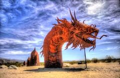 Sand Serpent (Michael F. Nyiri) Tags: california sculpture art desert anzaborrego southerncalifornia metalsculpture temeculacalifornia ricardobreceda