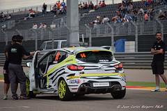 Clio Cup España,preparando salida,2