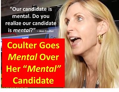 Trump is Mental (CoulterWatch) Tags: cruz candidate constitution donaldtrump trump amnesty immigration gop mental rino anncoulter coulter gope adiosamerica tedcruz