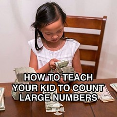 Yep. This is the best way to do it. #learntocount #money #sallychow #boss