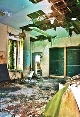 School's Out (Michelle O'Connell Photography) Tags: school abandoned classroom derelict kilmacolm lostplaces abandonedroom abandonedclassroom balrossie michelleoconnellphotography