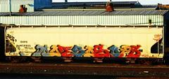 (timetomakethepasta) Tags: train graffiti ups hopper freight malice hektor shpx nayzr