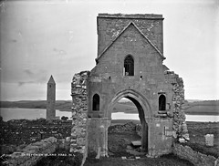On Devenish Island Lower Lough Erne, Co. Fermanagh (National Library of Ireland on The Commons) Tags: ireland ruins northernireland monastic ulster glassnegative fermanagh monasticruins cofermanagh robertfrench devenishisland williamlawrence nationallibraryofireland lawrencecollection lawrencephotographicstudio thelawrencephotographcollection
